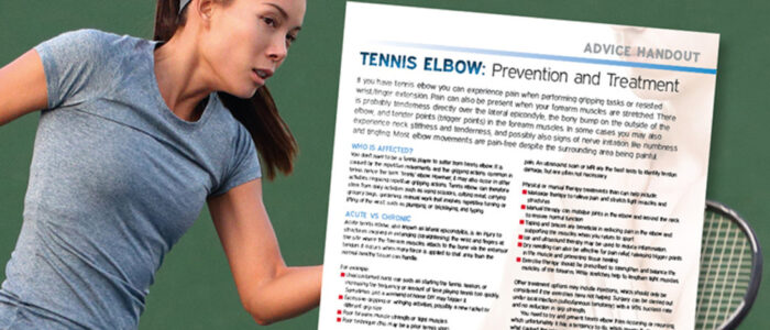 Tennis Injury prevention
